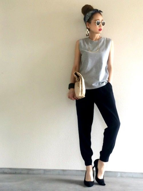 Yukie♡i│journal standard L'essage Tank tops Looks - WEAR
