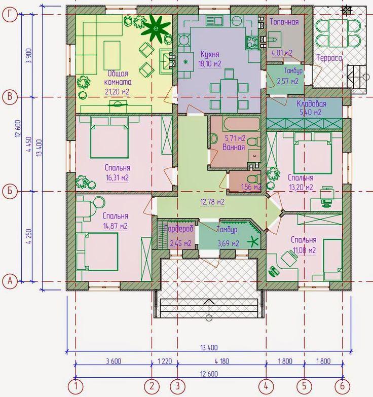1ec17ab7b4cd0a7b3d62b8de547b7956 construction plans 33 best одноэтажный дом images on pinterest,Google Home Plans