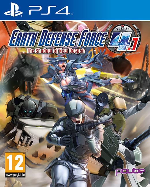 Earth Defense Force 4.1: The Shadow of New Despair reaches new heights in its gigantic military vs kaiju gameplay on PlayStation 4! Publisher: pQube Developer: Sandlot Genre: Action Platform: PS4 Release Date: 19/02/2016 #videogames #action #PS4 #pQube #Sandlot