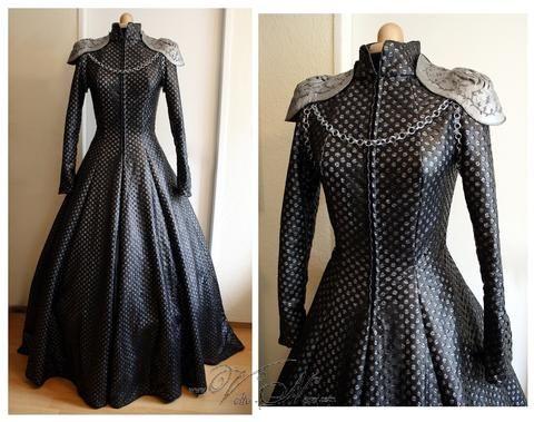 Queen Cersei Lannister Coronation Gown Costume Dress