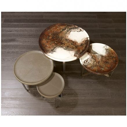 Anna Casa Interiors - Egidio Vassoio Table by Rugiano