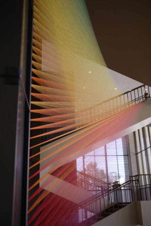 Plexus C2—Thread installation by Gabriel Dawe
