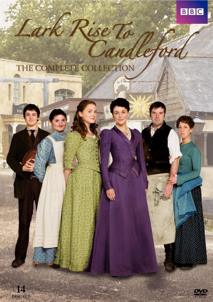 Lark Rise to Candleford- I just began to watch the first episode tonight and I'm in love! This is my new Sunday BBC t.V. show to watch..until Downton Abbey Returns.