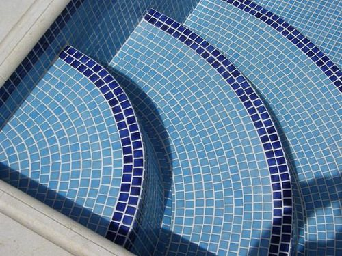 Mosaic Tile Pool Designs beautiful straight wall tile design by jimmy reed rock solid tile Pool Tile Designs The Different Types Of Pool Tiles Before Installing In