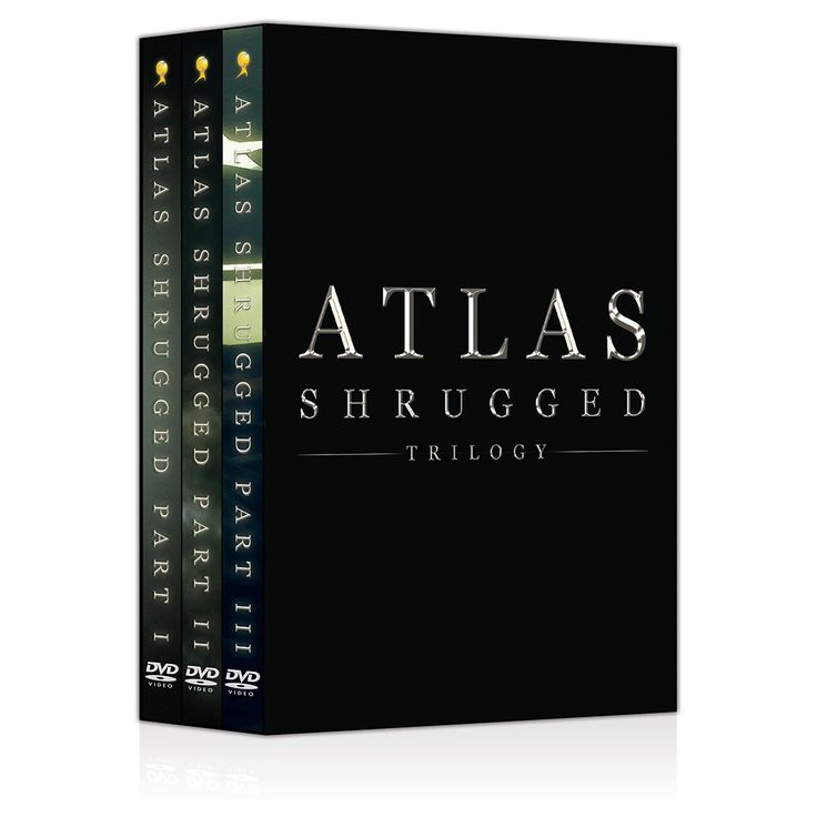 Atlas Shrugged Movie Merchandise - Special Edition Atlas Shrugged Trilogy DVD Box Set, $24.95 (http://store.atlasshruggedmovie.com/special-edition-atlas-shrugged-trilogy-dvd-box-set_/?utm_source=2015_03_03