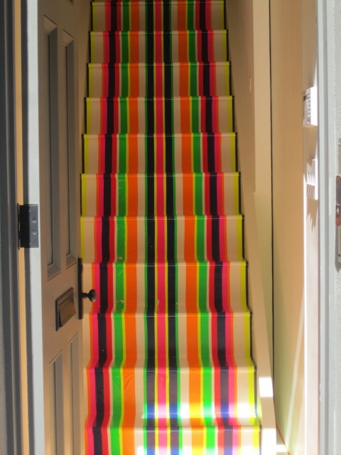 Steps I saw in someones house downtown... how cool!