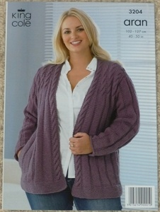 Knitting Patterns For Plus Size Sweaters : 1000+ images about plus size knitting patterns on ...