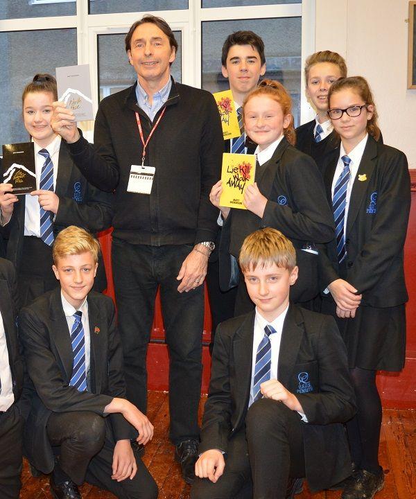 Award-winning writer and filmmaker visits Penrith school http://www.cumbriacrack.com/wp-content/uploads/2017/11/171116-Matt-Dickinson.jpg Queen Elizabeth Grammar School in Penrith hosted award-winning writer and filmmaker Matt Dickinson on Wednesday 15th November.    http://www.cumbriacrack.com/2017/11/22/award-winning-writer-filmmaker-visits-penrith-school/