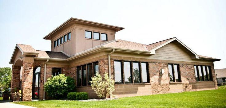 Dental office exterior home team services showcase for Exterior office design