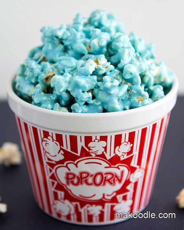 marshmallow popcorn.   You've made rice crispy treats, right? Way easier than caramel corn.  oh. my. heck.
