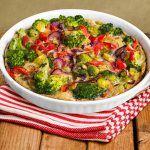 Frittata de verduras fácil y rápida