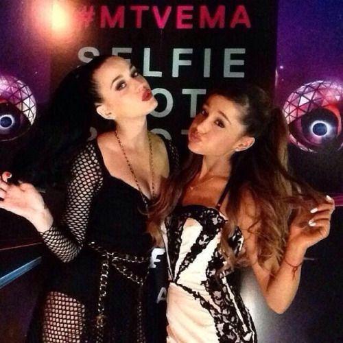 Katy and Ariana Grande @ MTV Europe Music Awards 2013
