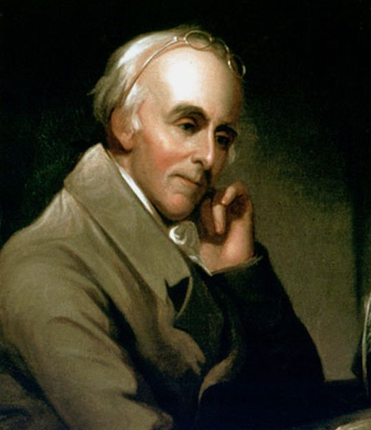 On April 14, 1775 Benjamin Rush was among those who founded the first American antislavery society.