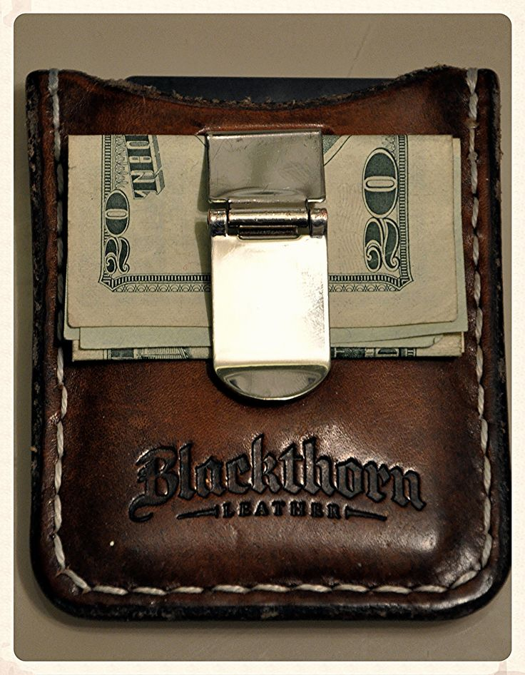 Blackthorn leather wallet from ETSY | by kyeandtabbs