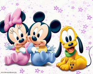 Baby Mickey and Minnie Mouse | Baby Disney Characters is categorized under Baby Disney and use the ...