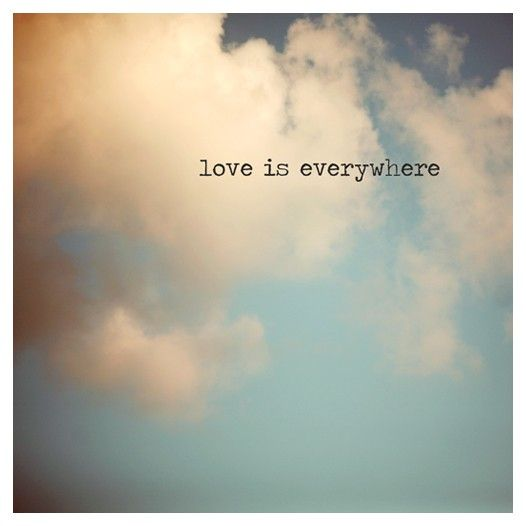 Aşk her yerde...