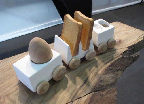 Breakfast Train by Reiko Kaneko  http://design-milk.com/breakfast-train-by-reiko-kaneko/#