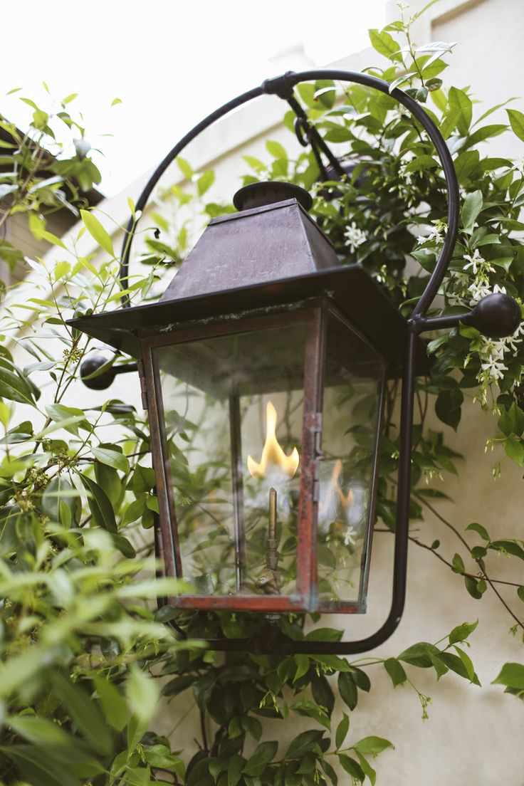 Evelyne home interiors interior and exterior decoration velas - Gas Lantern Rosemary Beach