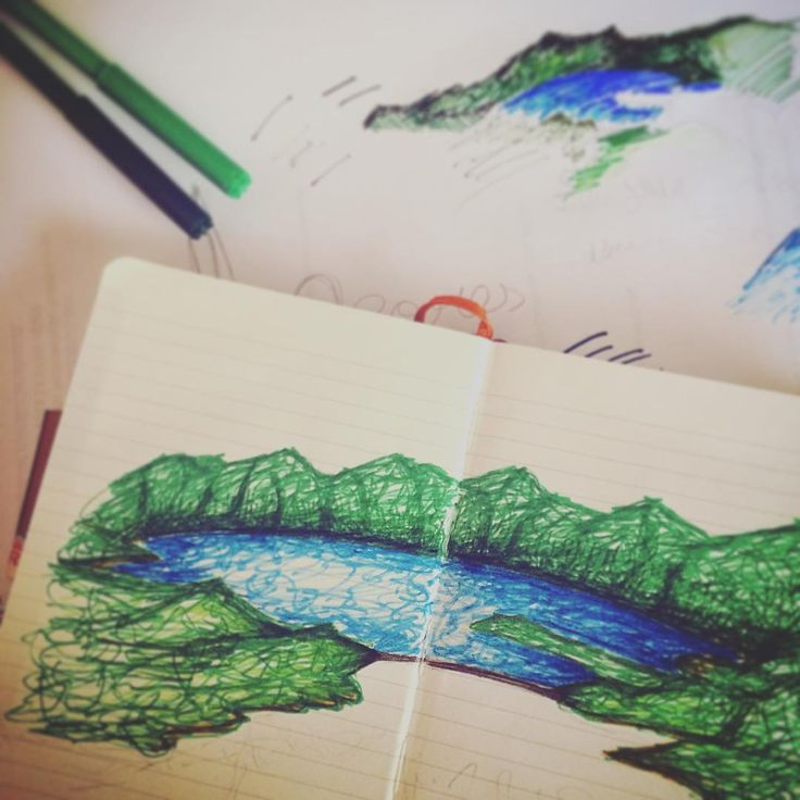 .. is coming! #WIP #painting #illustration #Acores #SMiguel #island #Portugal #moleskine #notebook