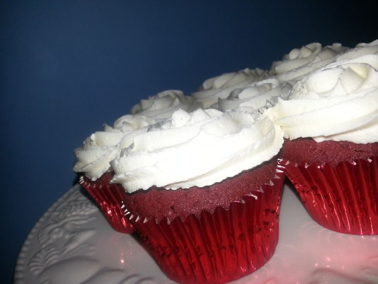 More than what you see on the outside. #Red #Velvet #Cupcakes Gorgeous, moist and yummy on the inside!