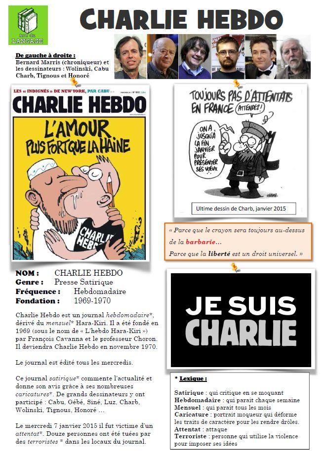 CestFranc: Parler de l'attentat de Charlie Hebdo en classe de FLE