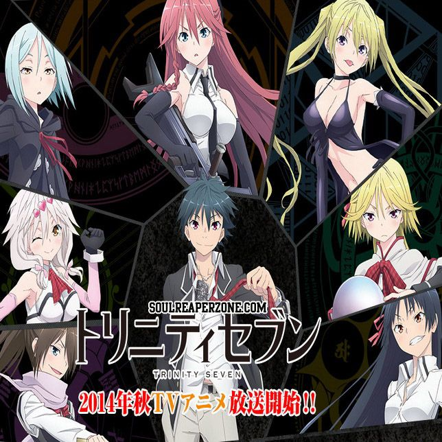 17 Best Images About Trinity Seven On Pinterest