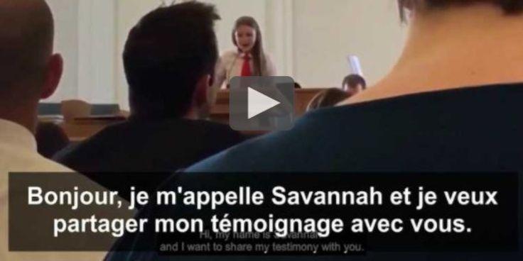 Cette jeune fille de 12 ans a voulu faire son coming out dans son église mormone... qui n'a pas apprécié