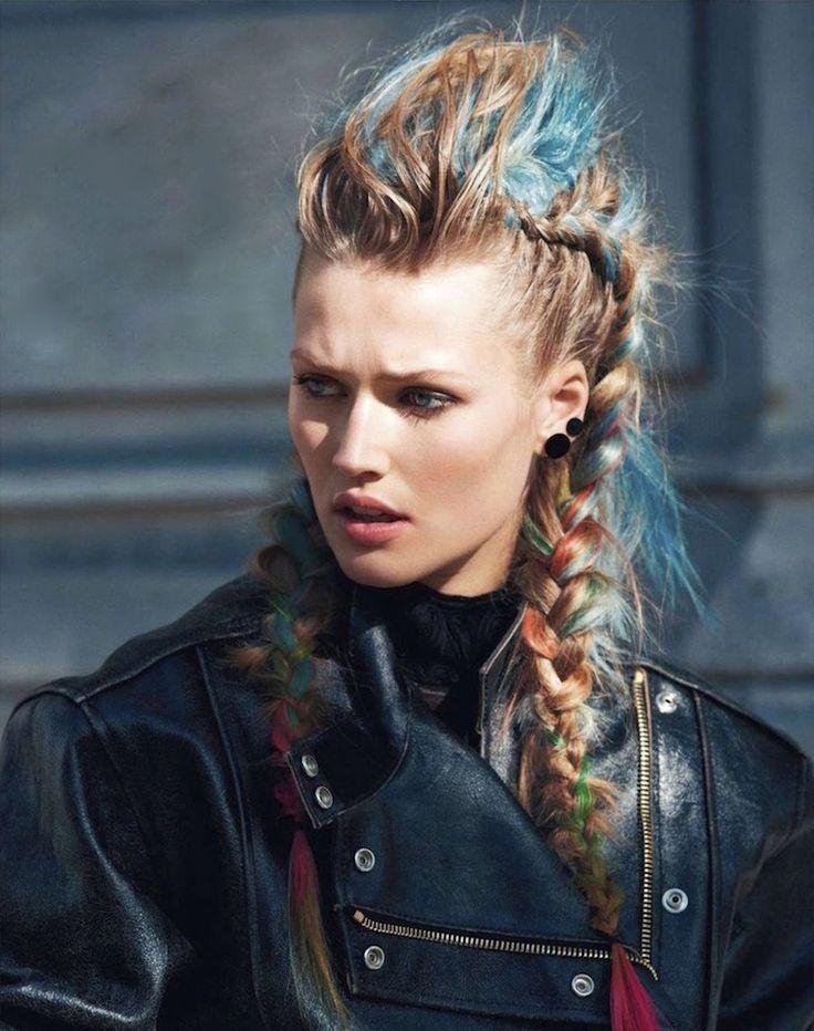wikinger frisuren frauen farben strähnen zeitgenössisch