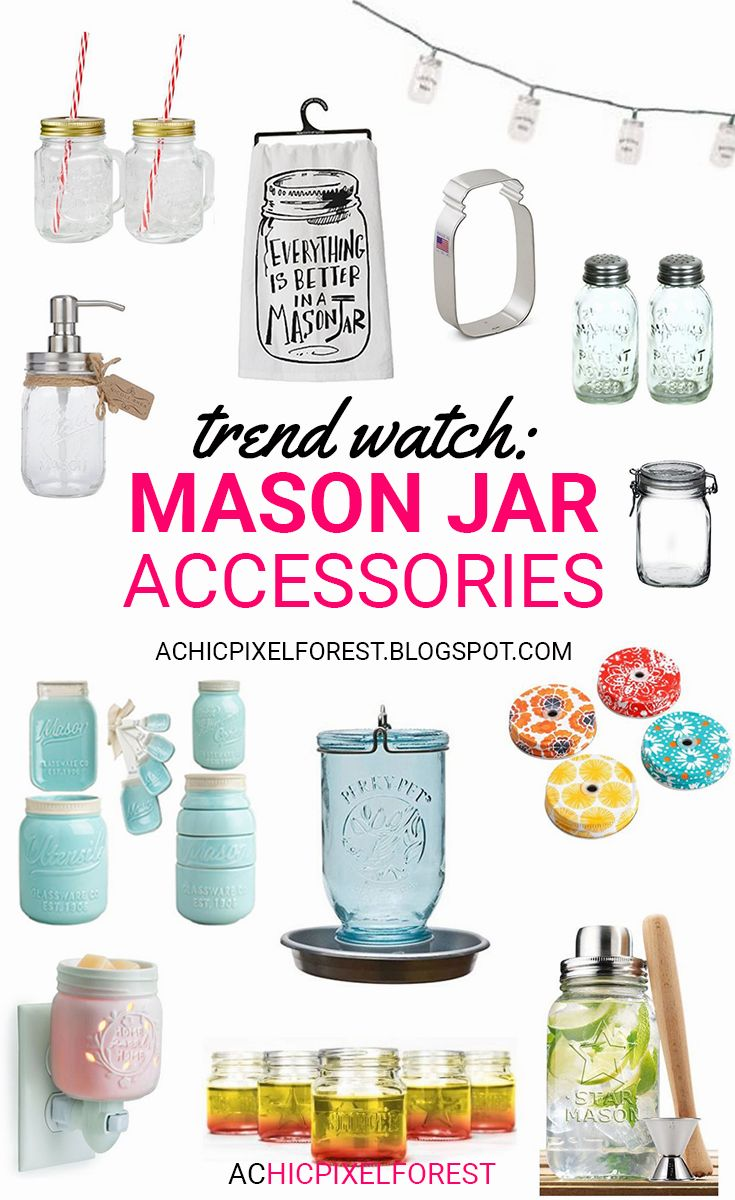 Best 25 Mason Jar Accessories Products Ideas On Pinterest Mason Jar Kitchen Decor Mason Jar