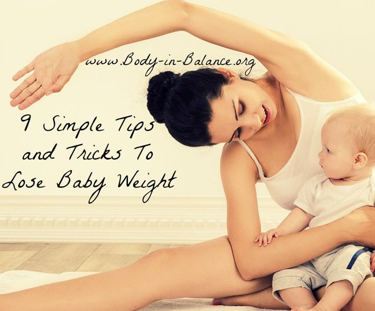how to lose a baby naturally