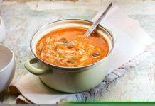 Κρεατόσουπα με κριθάρακι(3 μονάδες)