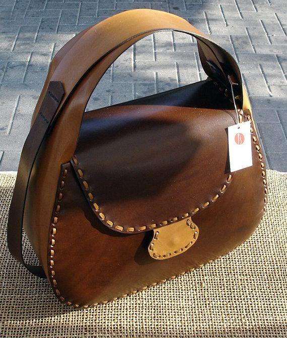 LEATHER HANDMADE BAG / Bag / Leather Bag / Handbag / от PACOSASTRE