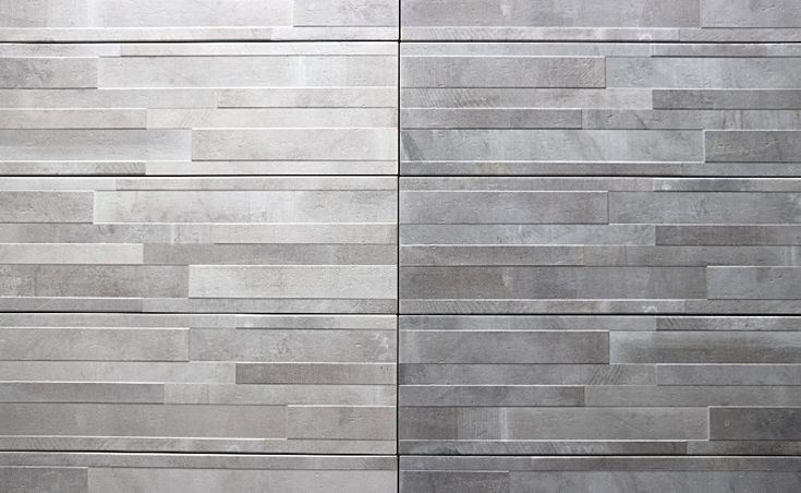 """Atelier Bianco or Grigio in 8x24"""" for feature walls or fireplaces.  #tile #homereno"""