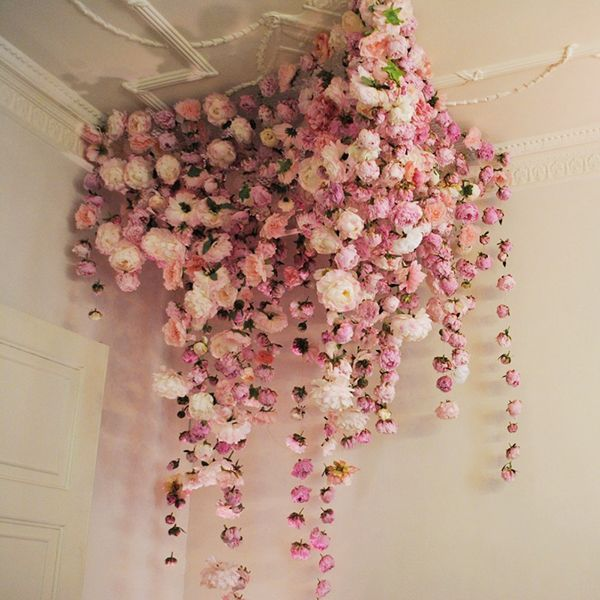 Peony installation by Rebecca Louise Law