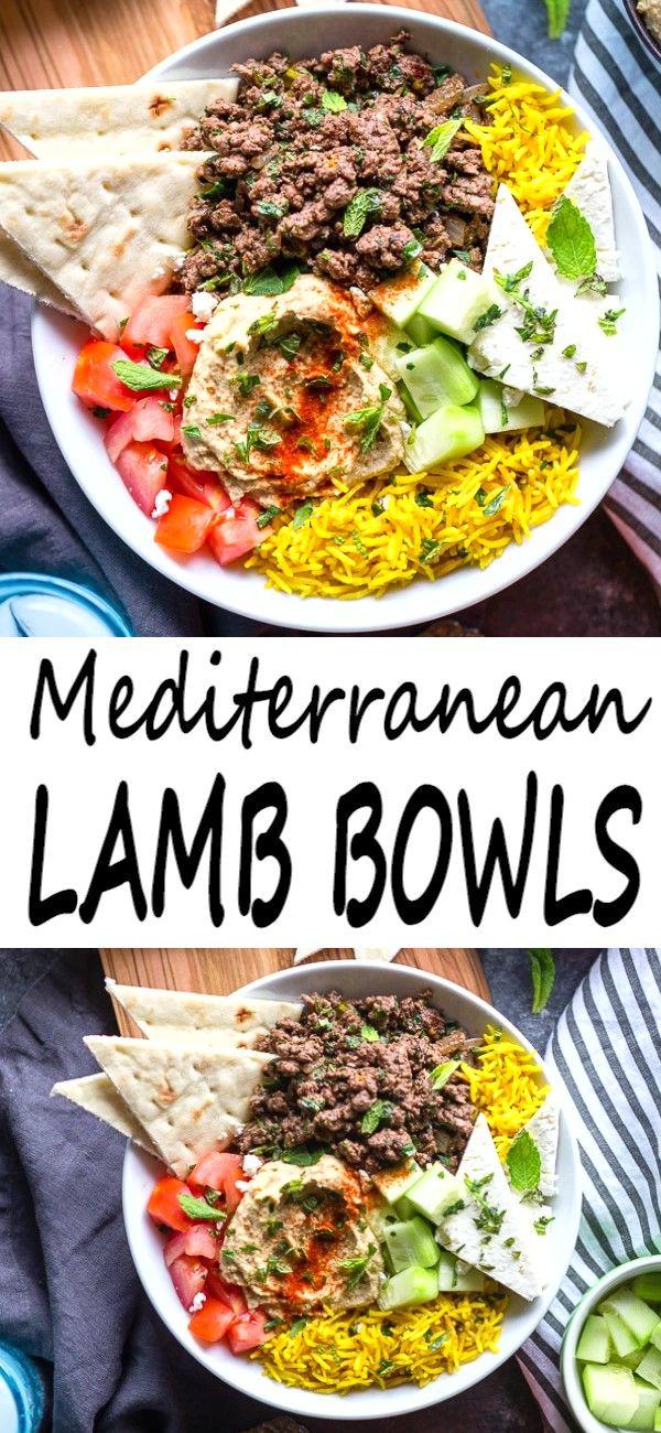 mediterranean diet easy ground lamb recipes