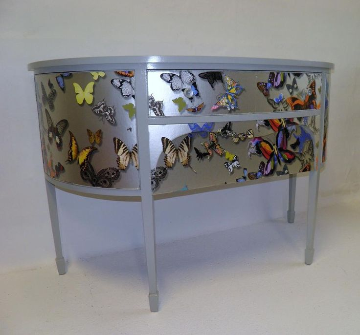 GORGEOUS EDWARDIAN UPCYCLED BOWFRONT SIDEBOARD ( SALE SALE SALE )