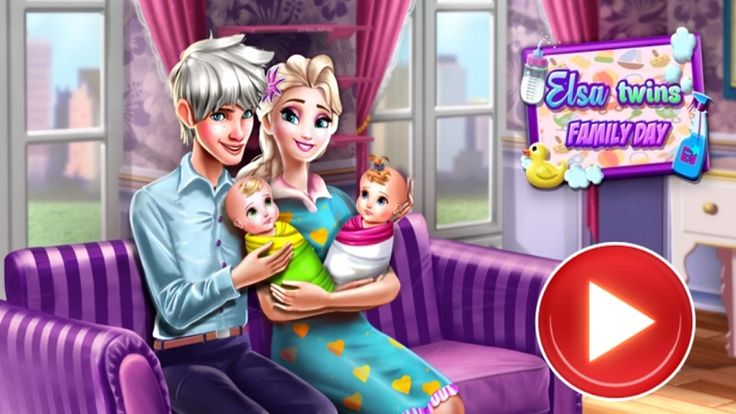 In Elsa Twins Family Day, join Elsa, Jack Frost and their twins in wonderful day. Help Elsa clean up her messy house and make everything look beautiful and tidy. Next she and jack will need some help to take care of their twins. Follow the instructions and help the parents fulfill each task. Have fun playing with Elsa!