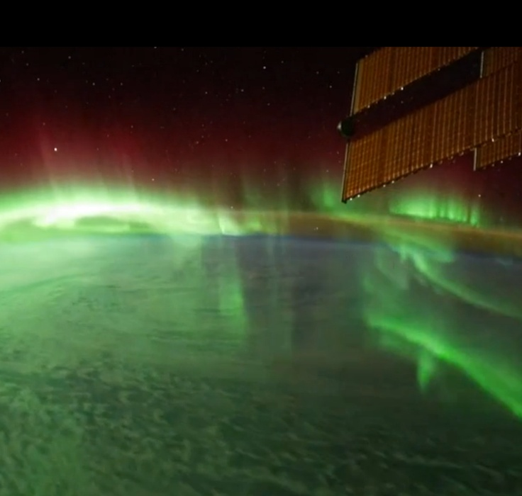 I've seen a bunch of these videos with space station flyovers and they're all really cool.. but this video offers the perspectives of the people gathering all that footage and living in that space station, and it's totally worth hearing.