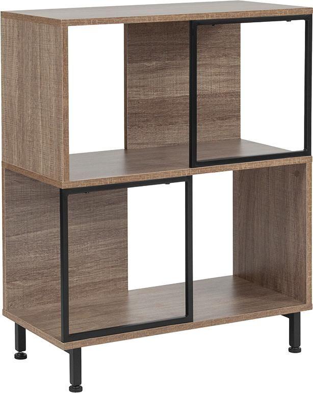 26x31 5 Rustic Bookshelf Cube Cube Storage Rustic Bookshelf