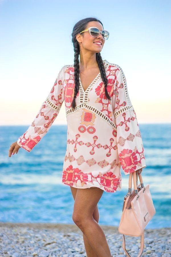 Boho Beach Dress Sin Categoria Crimenes De La Moda Boho Beach Dress Look C 2020 Bikini Ustu Plaj Elbiseleri Plaj Modasi
