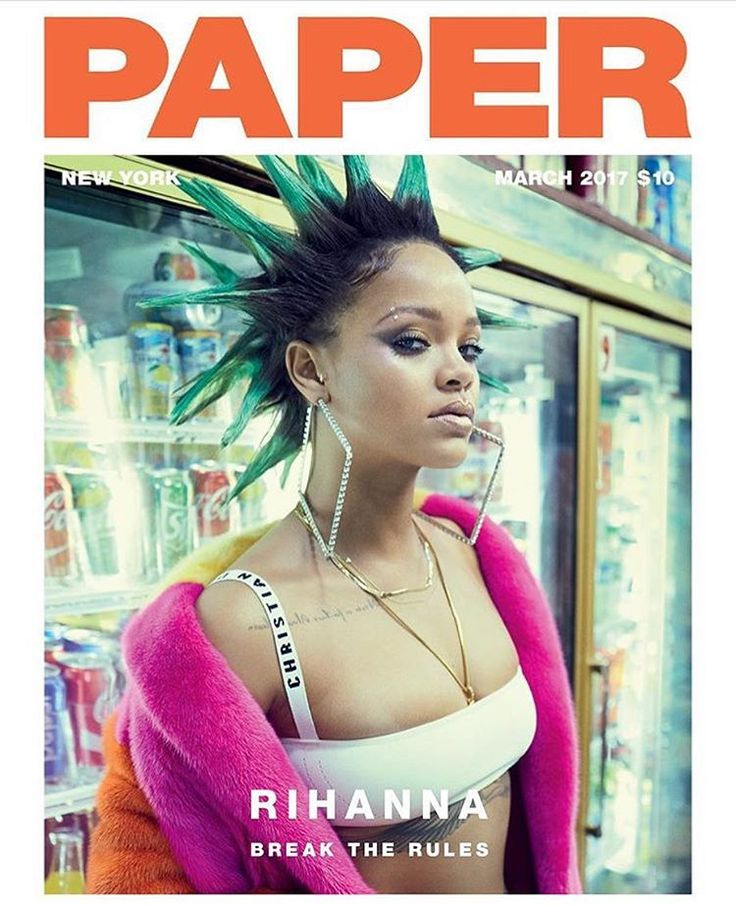 """764 Likes, 5 Comments - The Lady Loves Couture (@theladylovescouture) on Instagram: """"Cover Crush @badgalriri for @papermagazine  #rihanna #papermagazine #loveher #breaktherules…"""""""
