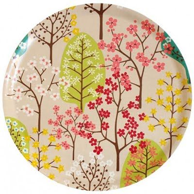 Tree Plate | Glazed.