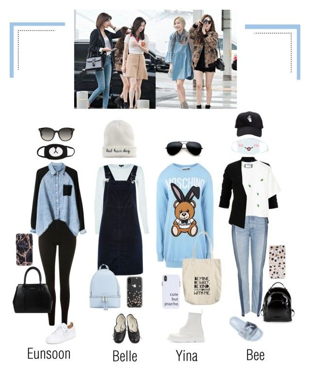 Airport Fashion Madam Pearl Flying To Australia By Official Madampearl Liked On Polyvore Featuring Topshop Moschino Stage Outfits Kpop Fashion Fashion