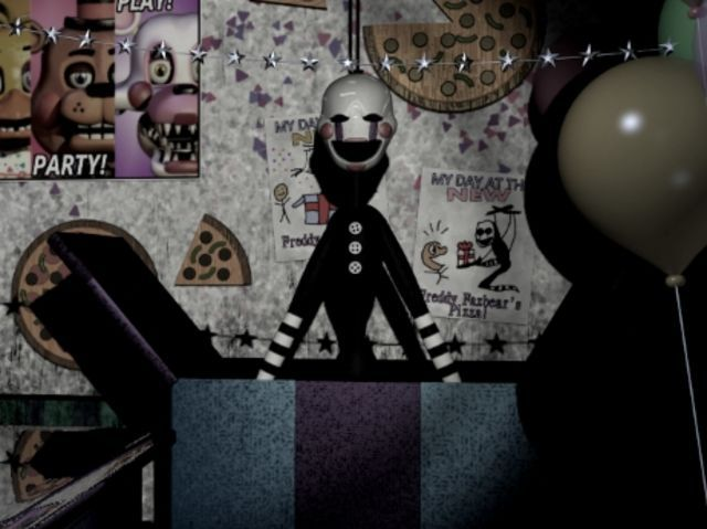 I got the Marionette. O_0 Who will you get in this FNAF 2 character quiz... So much NOPE!!!!