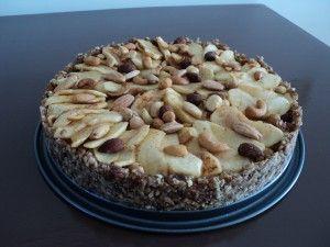 Suikervrije appeltaart met alleen natuurlijke ingrediënten!