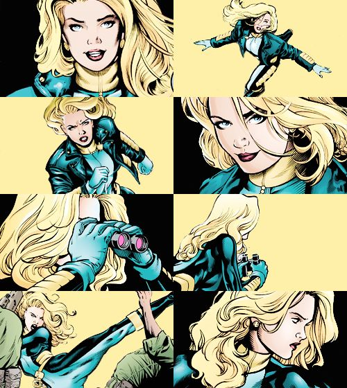 Black Canary in Birds of Prey v1 #9 & #10
