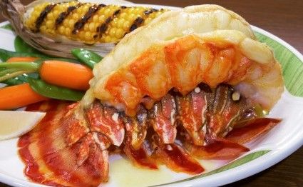 Recipes for Lobsters - Broiled Lobster Tails - Directions:1 In large saucepan, heat water and salt to boiling.2 Add frozen lobster tails; heat to boiling.3 Reduce heat; cover and simmer until done, about 12 minutes.4 Drain. To view more please CLICK HERE - http://www.bestmainelobster.net/recipes-for-lobsters/