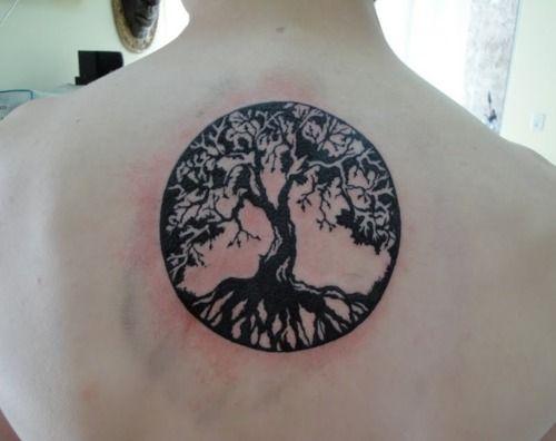 The tree of lifeTattoo Ideas, First Tattoo, Life Tattedup, Trees Of Life, Yggdrasil Tattoo, Tattoo Beautiful, Trees Tattoo, A Tattoo, Ink Inspiration
