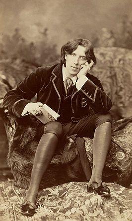 Foto van Oscar Wilde uit 1882 door Napoleon Sarony.