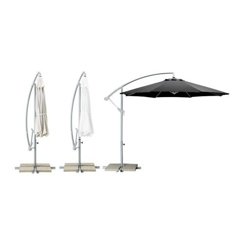KARLSÖ Parasol, hanging IKEA The fabric is water repellent and provides  excellent UV protection ( - The 25+ Best Ideas About Cantilever Umbrella On Pinterest Shade